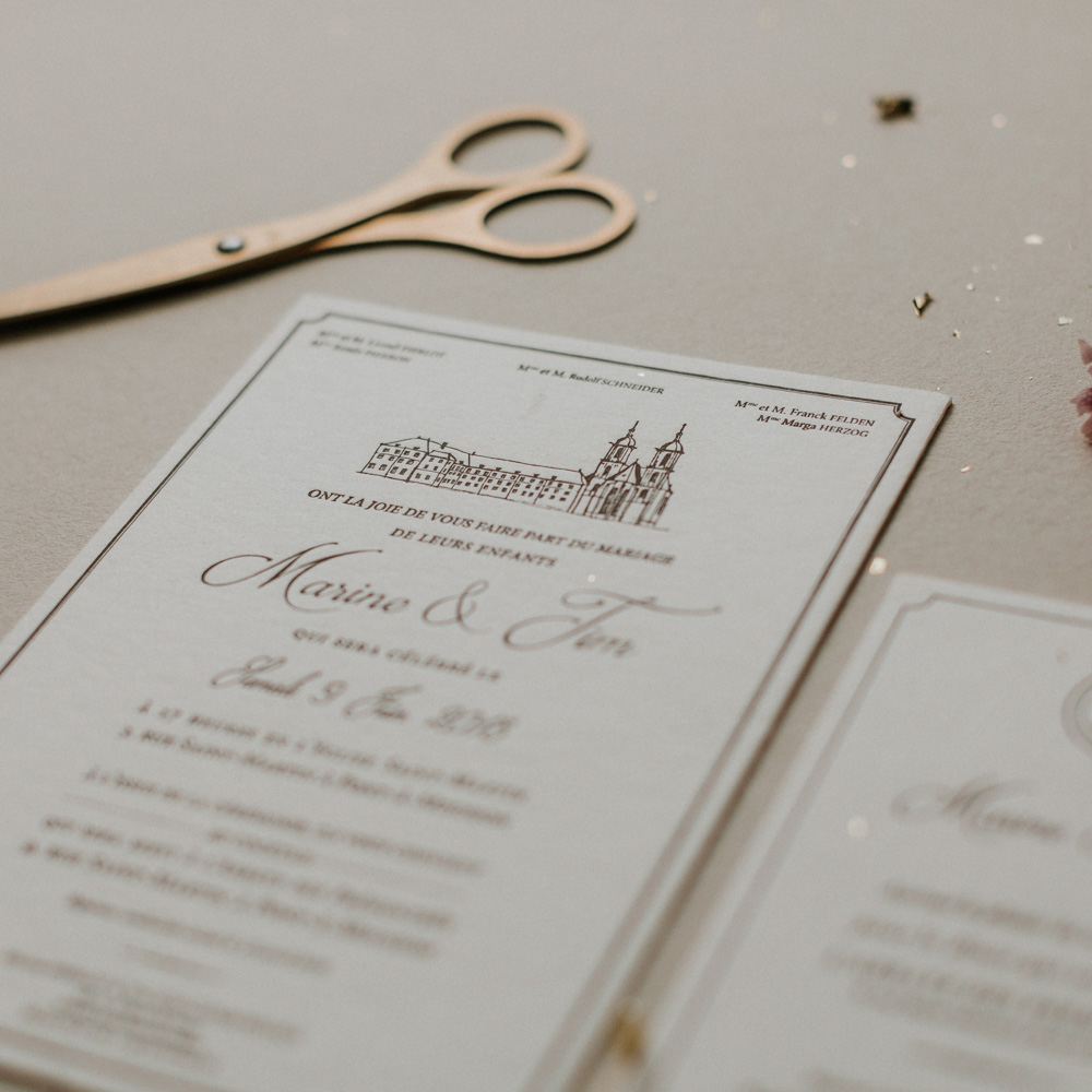 Faire_Part_Marine_Tim_letterpress_Chateau_chic_detail